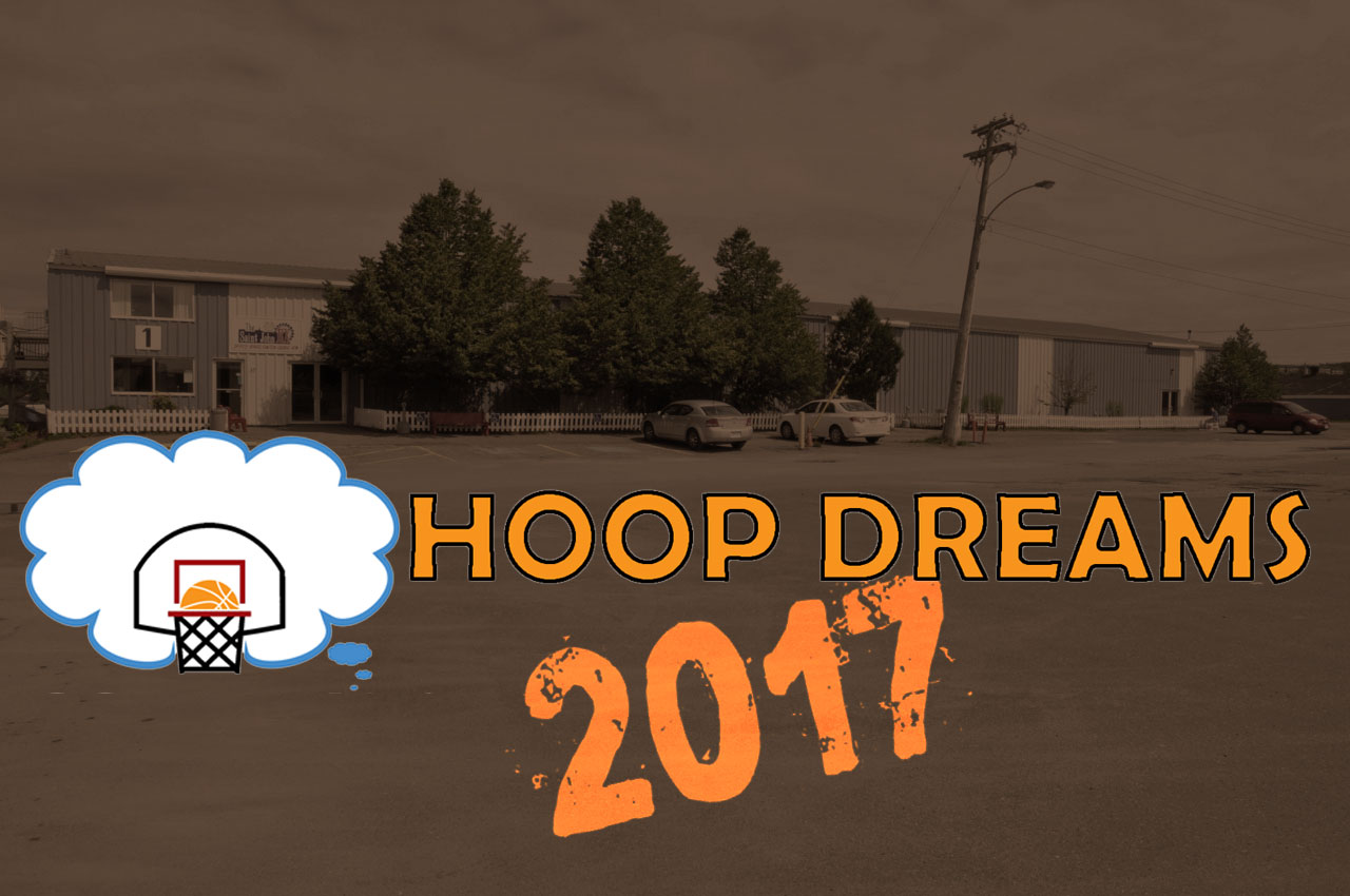 Hoop Dreams 2017 will be located at Exhibition Park in Saint John.